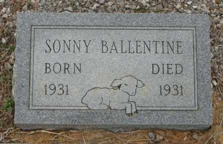 BALLENTINE, SONNY - McCurtain County, Oklahoma | SONNY BALLENTINE - Oklahoma Gravestone Photos