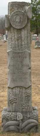 CHAPMAN, DAVID A. - McCurtain County, Oklahoma | DAVID A. CHAPMAN - Oklahoma Gravestone Photos