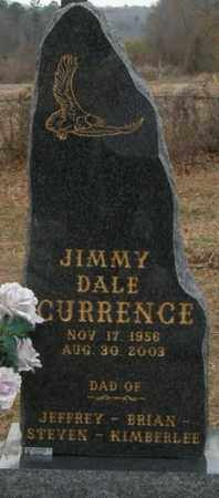 CURRENCE, JIMMY DALE - McCurtain County, Oklahoma | JIMMY DALE CURRENCE - Oklahoma Gravestone Photos
