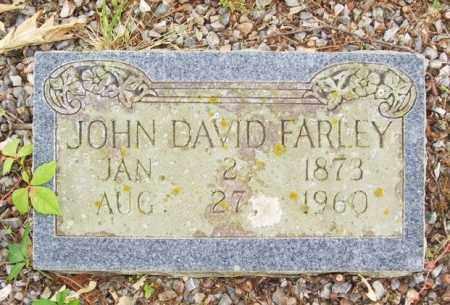 FARLEY, JOHN DAVID - McCurtain County, Oklahoma | JOHN DAVID FARLEY - Oklahoma Gravestone Photos