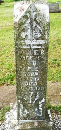 FARLEY, WILLIE BELL - McCurtain County, Oklahoma | WILLIE BELL FARLEY - Oklahoma Gravestone Photos