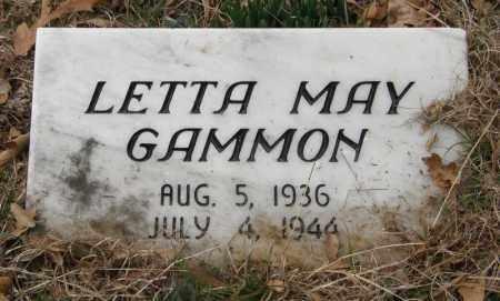 GAMMON, LETTA MAY - McCurtain County, Oklahoma   LETTA MAY GAMMON - Oklahoma Gravestone Photos