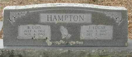 HAMPTON, B. LOIS - McCurtain County, Oklahoma | B. LOIS HAMPTON - Oklahoma Gravestone Photos