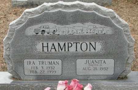 SHEFFIELD HAMPTON, JUANITA - McCurtain County, Oklahoma | JUANITA SHEFFIELD HAMPTON - Oklahoma Gravestone Photos