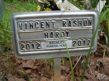 HARDY, VINCENT RASHUN - McCurtain County, Oklahoma   VINCENT RASHUN HARDY - Oklahoma Gravestone Photos