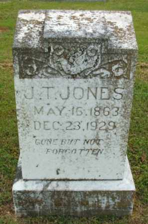 JONES, JAMES T - McCurtain County, Oklahoma | JAMES T JONES - Oklahoma Gravestone Photos