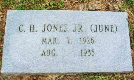 "JONES, JR, CLAUD HENRY ""JUNE"" - McCurtain County, Oklahoma | CLAUD HENRY ""JUNE"" JONES, JR - Oklahoma Gravestone Photos"