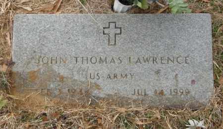 LAWRENCE, JOHN THOMAS - McCurtain County, Oklahoma | JOHN THOMAS LAWRENCE - Oklahoma Gravestone Photos