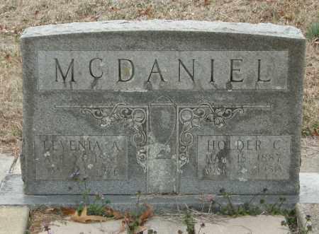 MCDANIEL, HOLDER C - McCurtain County, Oklahoma | HOLDER C MCDANIEL - Oklahoma Gravestone Photos