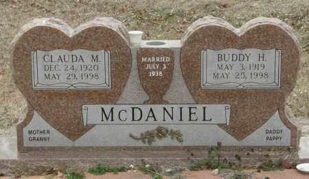 MCDANIEL, CLAUDA M. - McCurtain County, Oklahoma | CLAUDA M. MCDANIEL - Oklahoma Gravestone Photos