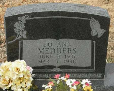 HAMPTON MEDDERS, JO ANN - McCurtain County, Oklahoma   JO ANN HAMPTON MEDDERS - Oklahoma Gravestone Photos