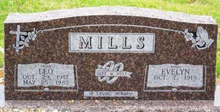 MILLS, LEO - McCurtain County, Oklahoma | LEO MILLS - Oklahoma Gravestone Photos
