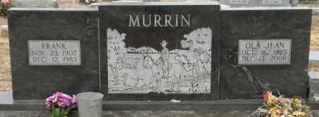 MURRIN, FRANK - McCurtain County, Oklahoma | FRANK MURRIN - Oklahoma Gravestone Photos