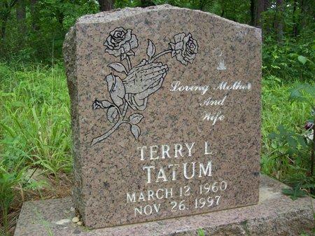 TATUM, TERRY L. - McCurtain County, Oklahoma | TERRY L. TATUM - Oklahoma Gravestone Photos