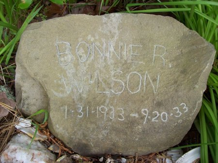 WILSON, BONNIE R. - McCurtain County, Oklahoma | BONNIE R. WILSON - Oklahoma Gravestone Photos