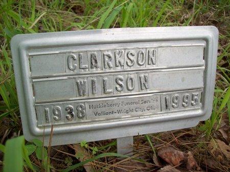 WILSON, CLARKSON EUGENE - McCurtain County, Oklahoma | CLARKSON EUGENE WILSON - Oklahoma Gravestone Photos