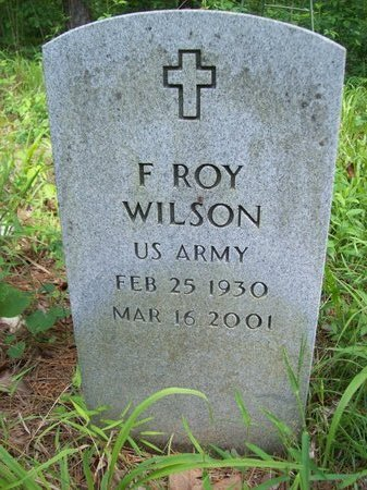 WILSON, F ROY - McCurtain County, Oklahoma   F ROY WILSON - Oklahoma Gravestone Photos