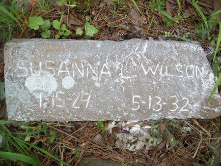 WILSON, SUSANNA L. - McCurtain County, Oklahoma | SUSANNA L. WILSON - Oklahoma Gravestone Photos