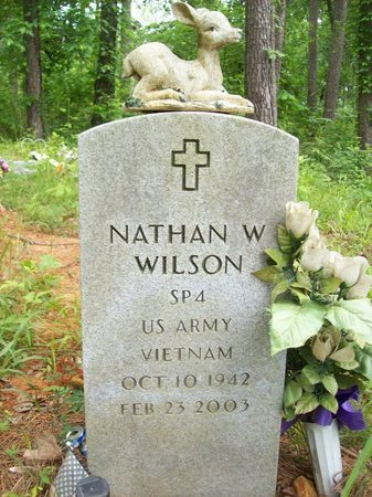 WILSON {VETERAN - VIETNAM}, NATHAN WAYNE - McCurtain County, Oklahoma | NATHAN WAYNE WILSON {VETERAN - VIETNAM} - Oklahoma Gravestone Photos
