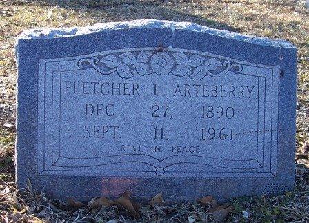 ARTEBERRY, FLETCHER - McIntosh County, Oklahoma   FLETCHER ARTEBERRY - Oklahoma Gravestone Photos