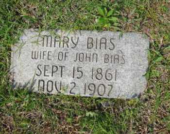 BIAS, MARY - McIntosh County, Oklahoma | MARY BIAS - Oklahoma Gravestone Photos