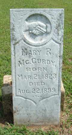 MCCURDY, MARY R. - McIntosh County, Oklahoma | MARY R. MCCURDY - Oklahoma Gravestone Photos