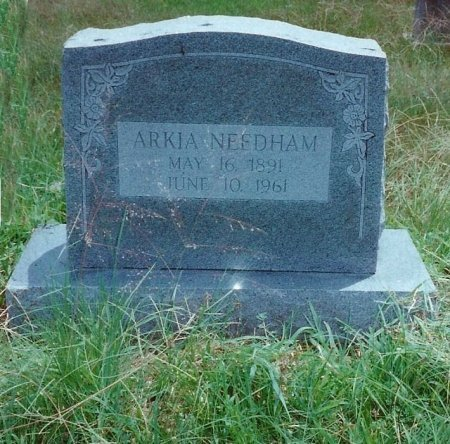 NEEDHAM, ARKA - McIntosh County, Oklahoma | ARKA NEEDHAM - Oklahoma Gravestone Photos
