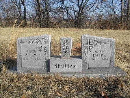 NEEDHAM, BILL MILDON - McIntosh County, Oklahoma   BILL MILDON NEEDHAM - Oklahoma Gravestone Photos