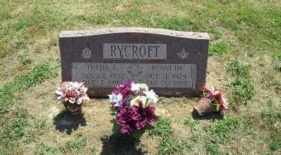 COX RYCROFT, THEDA - McIntosh County, Oklahoma | THEDA COX RYCROFT - Oklahoma Gravestone Photos