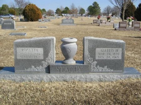 STACY, ALFRED HARRISON - McIntosh County, Oklahoma | ALFRED HARRISON STACY - Oklahoma Gravestone Photos