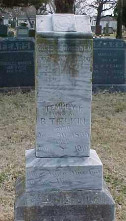 ELKIN, TEMPEY KATHERINE - Murray County, Oklahoma | TEMPEY KATHERINE ELKIN - Oklahoma Gravestone Photos