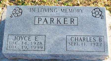 PARKER, CHARLES B - Murray County, Oklahoma | CHARLES B PARKER - Oklahoma Gravestone Photos