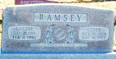 RAMSEY, GOLDIE - Murray County, Oklahoma   GOLDIE RAMSEY - Oklahoma Gravestone Photos