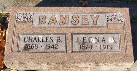 RAMSEY, CHARLES B - Murray County, Oklahoma | CHARLES B RAMSEY - Oklahoma Gravestone Photos