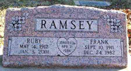 RAMSEY, EDWIN FRANK - Murray County, Oklahoma | EDWIN FRANK RAMSEY - Oklahoma Gravestone Photos