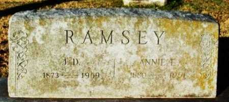 RAMSEY, J D - Murray County, Oklahoma | J D RAMSEY - Oklahoma Gravestone Photos