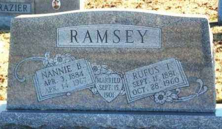 RAMSEY, RUFUS TURNER - Murray County, Oklahoma | RUFUS TURNER RAMSEY - Oklahoma Gravestone Photos