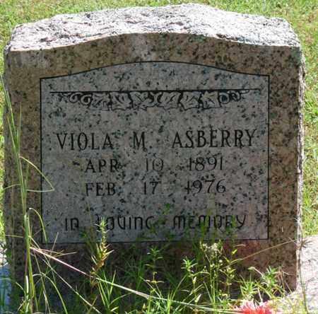 ASBERRY, VIOLA M - Muskogee County, Oklahoma | VIOLA M ASBERRY - Oklahoma Gravestone Photos