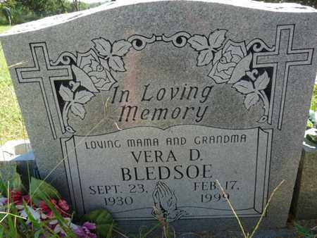 BLEDSOE, VERA - Muskogee County, Oklahoma | VERA BLEDSOE - Oklahoma Gravestone Photos