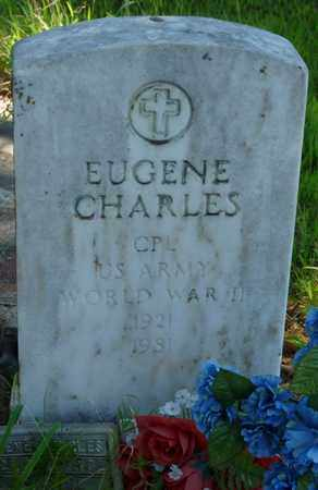 CHARLES (VETERAN WWII), EUGENE - Muskogee County, Oklahoma | EUGENE CHARLES (VETERAN WWII) - Oklahoma Gravestone Photos