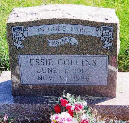 COLLINS, ESSIE - Muskogee County, Oklahoma | ESSIE COLLINS - Oklahoma Gravestone Photos