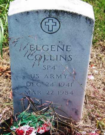 COLLINS (VETERAN), ELGENE - Muskogee County, Oklahoma   ELGENE COLLINS (VETERAN) - Oklahoma Gravestone Photos