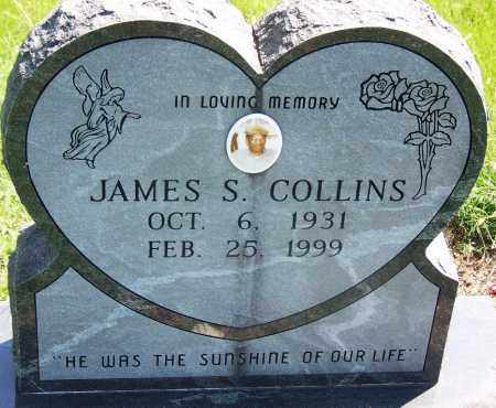 COLLINS, JAMES S - Muskogee County, Oklahoma | JAMES S COLLINS - Oklahoma Gravestone Photos