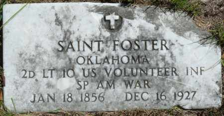 FOSTER (VETERAN SAW), SAINT - Muskogee County, Oklahoma | SAINT FOSTER (VETERAN SAW) - Oklahoma Gravestone Photos
