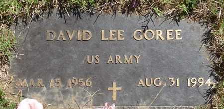 GOREE (VETERAN), DAVID LEE - Muskogee County, Oklahoma | DAVID LEE GOREE (VETERAN) - Oklahoma Gravestone Photos