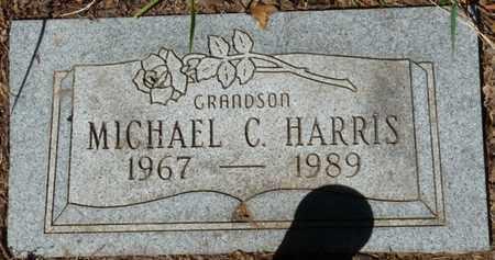 HARRIS, MICHAEL C - Muskogee County, Oklahoma   MICHAEL C HARRIS - Oklahoma Gravestone Photos