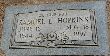 HOPKINS SR., SAMUEL L - Muskogee County, Oklahoma | SAMUEL L HOPKINS SR. - Oklahoma Gravestone Photos