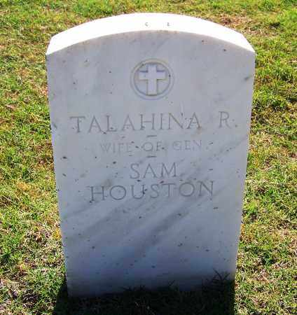HOUSTON, TALAHINA R. - Muskogee County, Oklahoma | TALAHINA R. HOUSTON - Oklahoma Gravestone Photos