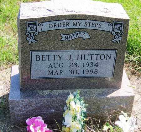HUTTON, BETTY J - Muskogee County, Oklahoma | BETTY J HUTTON - Oklahoma Gravestone Photos