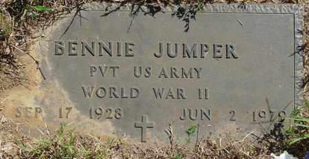 JUMPER (VETERAN WWII), BENNIE - Muskogee County, Oklahoma   BENNIE JUMPER (VETERAN WWII) - Oklahoma Gravestone Photos